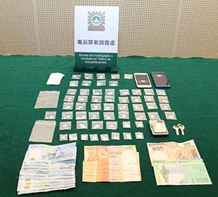 マカオのネオン街で麻薬密売…20歳の香港人モデル青年逮捕