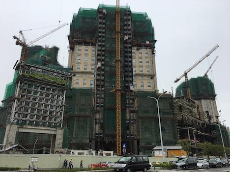 大型IR建設ラッシュ続くマカオ、建設中及び設計段階のホテルが49軒…16年第4四半期=客室供給数は現状1.4倍の5万室超に