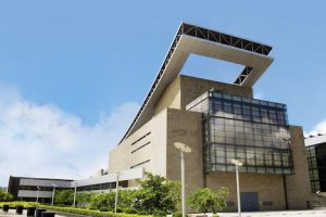 会場のひとつとなるマカオ文化センター(写真:ICM)