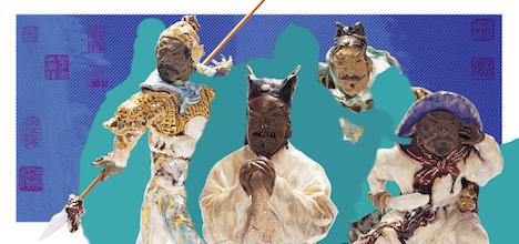 マカオ博物館蔵 水滸伝の英雄108人陶芸及び篆刻作品展