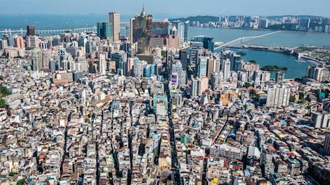マカオの人口密度2.14万人に…香港や東京の3倍以上=2016年