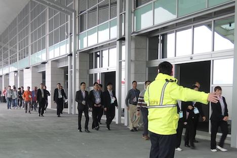 マカオ・タイパ島の新フェリーターミナルで消防訓練実施…運用開始間近