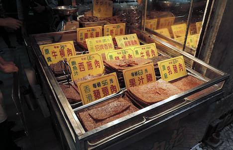 マカオ名物土産ジャーキー、13店舗で未包装商品の展示販売停止…当局が不衛生と指摘