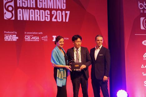 マカオ開催「アジアゲーミングアワード」で日系2社がサプライヤー賞を受賞=アルゼゲーミングとエンゼルプレイングカード