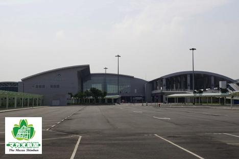 2017年6月1日にオープン予定のタイパフェリーターミナル(資料)=マカオ・タイパ島北安地区-本紙撮影