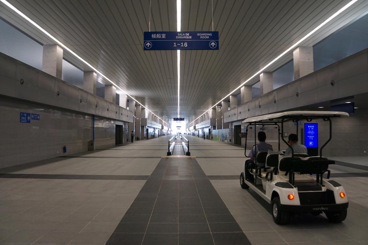 マカオの新しい海の玄関口「タイパフェリーターミナル」が6月1日運用開始=マカオ国際空港と直結