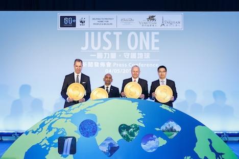 マカオカジノIR運営大手サンズチャイナがWWFと組み地球温暖化防止PJ立ち上げ