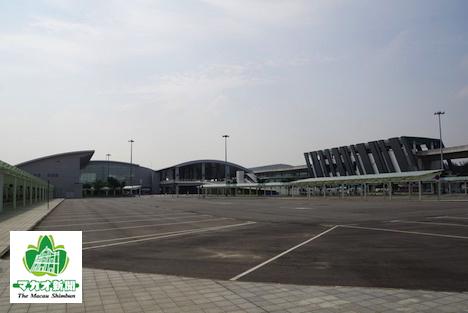 タイパフェリーターミナル=マカオ・タイパ島北安地区-本紙撮影