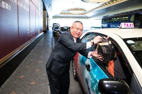 サンズマカオが開業13周年…タクシードライバーにスペシャル弁当無償配布