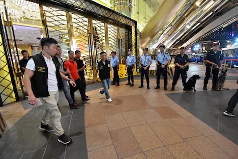マカオ警察、3ヶ月に及ぶ一斉取り締まりで1782人送検