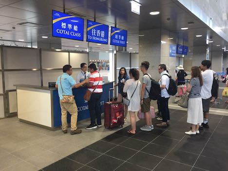 タイパフェリーターミナル運用開始、順調な立ち上がり=マカオの新たな海の玄関口
