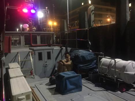 マカオへの密航相次ぐ…2日間で4件10人検挙