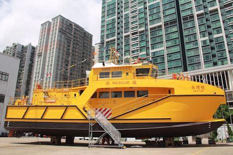 政府ドックで展示を予定している救助船「南灣號」(写真:DSAMA)