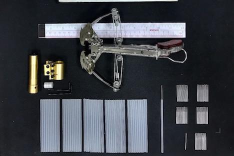 マカオ税関、中国からクロスボウ持ち込んだ男女を検挙…禁止武器に相当