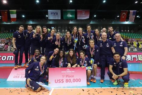 イタリアが全勝優勝…FIVBワールドグランプリ2017マカオ大会