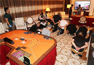 マカオ警察が中国人経営の偽カジノVIPルームを摘発…カジノホテルの客室を使って営業