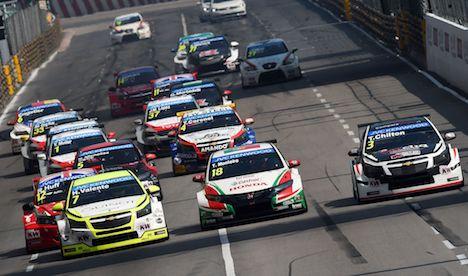 第64回マカオGPにWTCC世界ツーリングカー選手権が復帰…3年ぶり