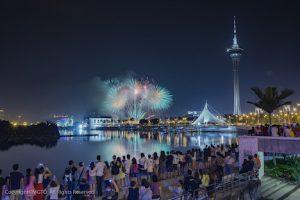マカオ国際花火コンテストのイメージ(写真:MGTO)