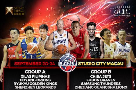 プロバスケットボール「アジアリーグ2017」