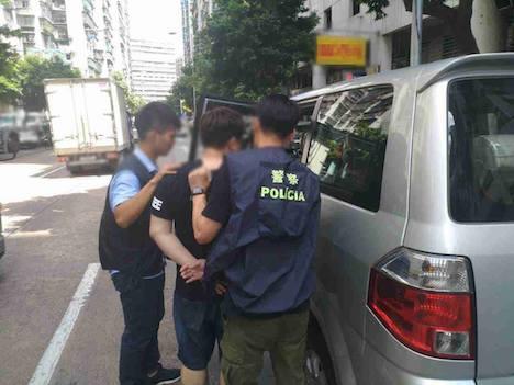 マカオ警察が中国人密航者逮捕=2023年まで入境禁止の身、賭博目的で