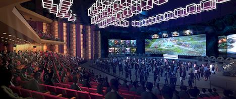 マカオの新規大型IR「MGMコタイ」の多目的シアターに世界最大の4K液晶スクリーン設置…17年第4四半期オープン予定