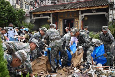 台風13号による甚大な被害から復旧途上…マカオ当局が観光客に渡航の再検討を要請=観光都市に大打撃