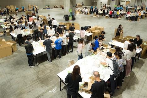 国際カジノIR運営大手LVサンズが世界4都市横断で社会貢献活動に取り組む…4年連続累計50万個の衛生キット制作