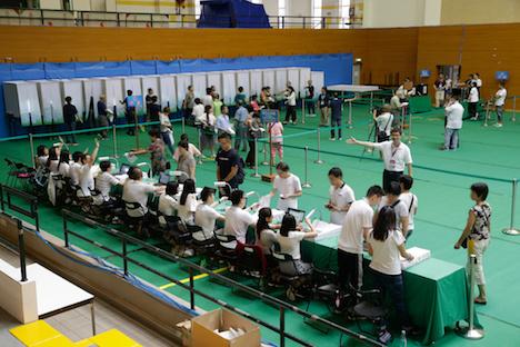第6回マカオ立法会選挙投票スタート…午後9時まで