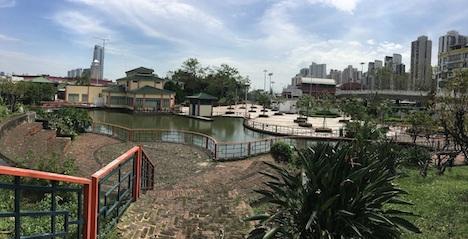 台風13号のマカオ襲来から約1ヶ月…すべての公園が再オープンへ