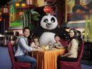 ドリームワークスキャラクターと朝食を楽しめる「Po's Kung Fu Feast」のイメージ(写真:Sands Cotai Central)