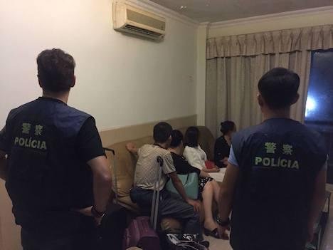 マカオ警察、無認可宿泊施設に立ち入り検査実施