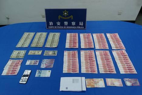 マカオへ向かう航空機内で窃盗事件発生…中国人の男を逮捕