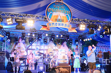 MGMマカオのオクトーバーフェスト開幕…9年連続開催=10月12〜22日