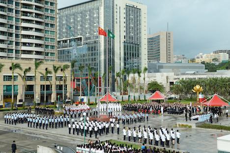 中華人民共和国建国68周年…マカオで国慶節祝賀式典開催