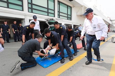第64回マカオGP開幕まで約1ヶ月…地元医師と消防局員ら対象のレスキュー講習実施