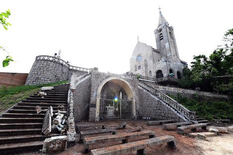 マカオ、ペーニャ教会の修復工事が11月完成見通し…台風13号で被災