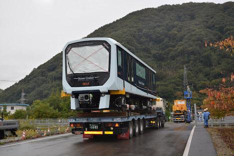 マカオ新交通システムの車両輸送がスタート、日本から=ゆりかもめと同タイプの三菱重工製