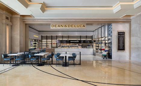 大型IR「ギャラクシーマカオ」のショッピングアーケード内にオープンした「DEAN & DELUCA」の店舗(写真:Galaxy Macau)