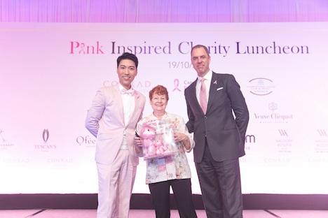 コンラッドマカオが乳がん啓発チャリティランチ開催…4年連続