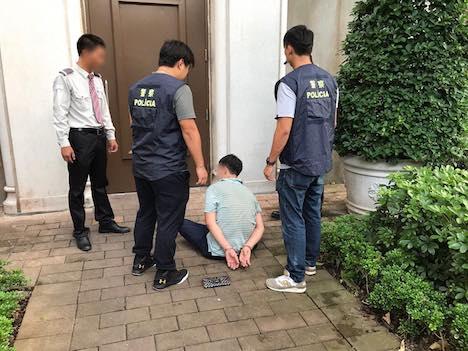 マカオ警察、大型IR周辺で取り締まり中に窃盗犯を逮捕