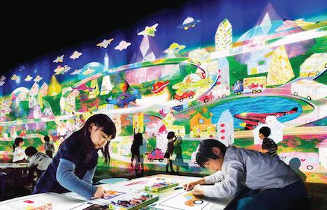 チームラボ「未来の遊園地」