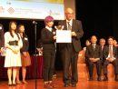 第42回香港日本語弁論大会で優勝したキティ・リョンさん(写真:マカオ大学)