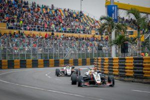 「サンシティグループF3マカオグランプリ-FIA F3ワールドカップ」決勝レース=2017年11月19日、マカオ・ギアサーキット(写真:GCS)