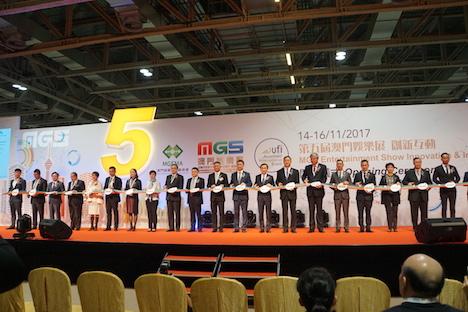 国際カジノ見本市「MGSエンターテイメントショー2017」開幕…マカオ=日本版IRの最新動向伝えるブースも