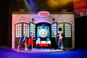 サンズコタイセントラルで開催されるキャラクターイベント「きかんしゃトーマス&リトルビッグクラブオールスターズ」のイメージ(写真:Sands China Limited)