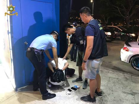 マカオフードフェスティバル会場でスリ…中国本土出身の男逮捕