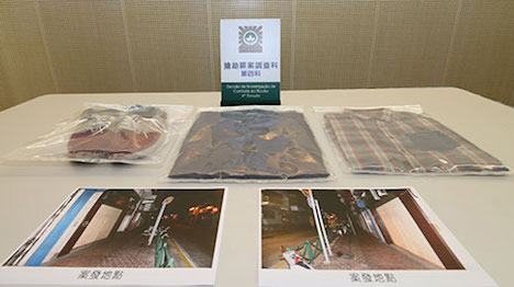 マカオ、ギャンブル資金欲しさにひったくり…中国人建設作業員逮捕