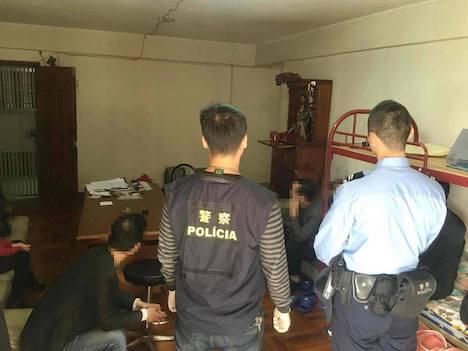 マカオ警察、マカオ半島中心部で無認可宿泊施設に対する取り締まり実施