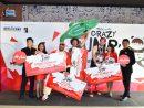 「クレイジー・ジャンプ2017」表彰式=2017年12月4日(写真:Macau Tower)