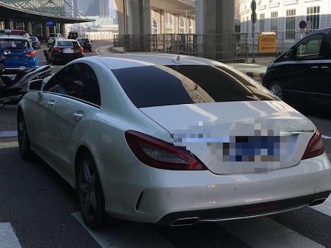 中国本土の自家用車が陸路ボーダーを強行突破してマカオへ侵入